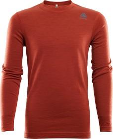 Bild på Aclima LightWool Crew Neck shirt Junior Red Ochre