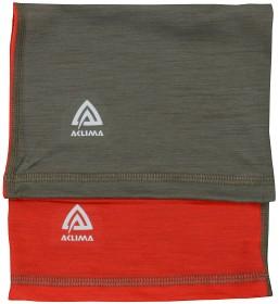 Bild på Aclima Lightwool Headover Children High Risk Red/ Ranger Green