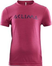 Bild på Aclima LightWool T-shirt Children, Cerise
