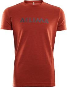 Bild på Aclima LightWool T-shirt Junior, Red Ochre