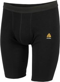 Bild på Aclima WarmWool Shorts Long Man Jet Black