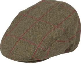 Bild på Alan Paine M's Combrook Waterproof Tweed Cap Sage