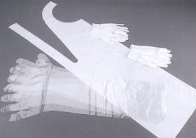 Bild på Stabilotherm -suojakäsine- ja esiliinasetti