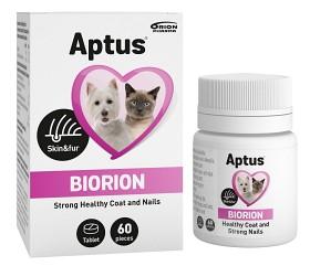 Bild på Aptus Biorion biotiinitabletit lemmikille, 60 kpl