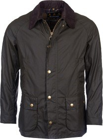 Bild på Barbour M's Ashby Wax Jacket Dark Olive