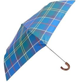 Bild på Barbour Tartan Mini Umbrella Blue Tartan