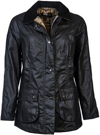 Bild på Barbour W's Beadnell Wax Jacket Navy
