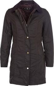 Bild på Barbour W's Belsay Padded Wax Jacket Dark Olive