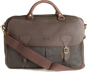 Bild på Barbour Wax Leather Briefcase Olive
