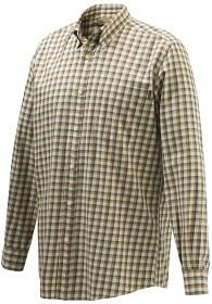 Bild på Beretta Wood Button Down Shirt ruutupaita, ruskea/valkoinen