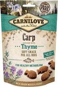 Bild på Carnilove Dog Semi Moist Snack Carp & Thyme 200 g