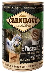 Bild på Carnilove Wild Meat Duck & Pheasant 400 g