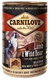 Bild på Carnilove Wild Meat Lamb & Wild Boar 400 g