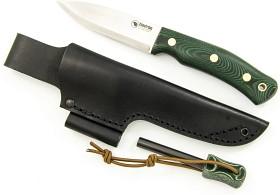 Bild på Casström No.10 Swedish Forest Knife K720 Micarta/Scandi Kipinaraudalla