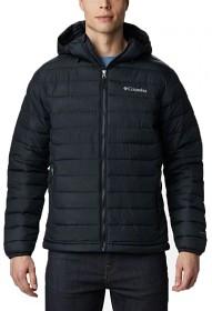 Bild på Columbia M's Powder Lite Hooded Jacket hupullinen takki, musta