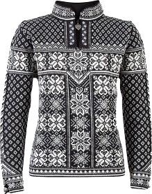 Bild på Dale Of Norway W's Peace Fem Sweater Black/Offwhite