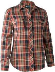 Bild på Deerhunter Lady Athena Shirt Orange Check