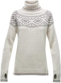 Bild på Devold Ona Round Sweater Woman Merino Offwhite