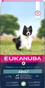 Bild på Eukanuba Adult Small & Medium Breed Lamb & Rice 12 kg