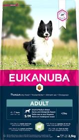 Bild på Eukanuba Adult Small & Medium Breed Lamb & Rice 2,5 kg