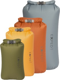 Bild på Exped Fold Drybag 4-Pack XS-L (3-13 litraa)