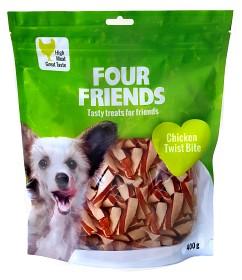 Bild på Four Friends Koiranherkku Chicken Twist Bite 400g