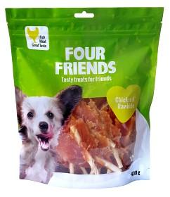 Bild på Four Friends Koiranherkku Chicken N Rawhide 400g