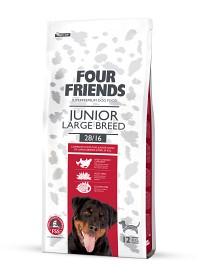 Bild på Four Friends Junior Large Breed 12 kg