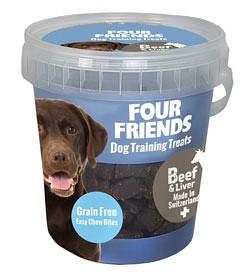 Bild på Four Friends Koiranherkku FFD Training Treats Beef & Liver 400g