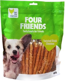 Bild på Four Friends Twisted Stick Chicken 12,5 cm 40 kpl