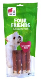 Bild på Four Friends Twisted Stick Lamb 25 cm 4 kpl