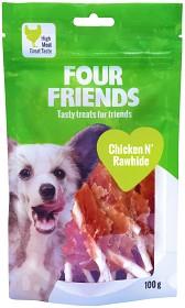 Bild på Four Friends Koiranherkku Chicken N' Rawhide 100g