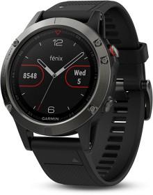 Bild på Garmin Fenix 5 Skiffergrå med svart armband