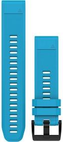 Bild på Garmin QuickFit 22 mm Armband Cirrusblå Silikon