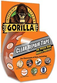 Bild på Gorilla Duct Tape Clear 8 m x 48 mm