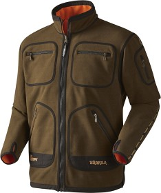 Bild på Härkila Kamko Windstopper Fleece Jacket Hunting Green/Orange Blaze