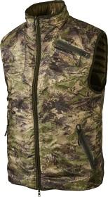 Bild på Härkila Lynx Insulated Reversible Vest Willow Green/AXIS MSP® Forest Green