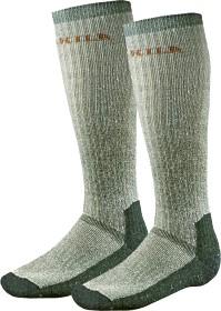 Bild på Härkila Expedition pitkät sukat, harmaa/vihreä