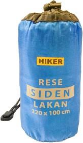 Bild på Hiker Satiinilakana Suorakulmainen Tasku Tyynylle 220x100 cm Sininen