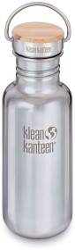 Bild på Klean Kanteen 532 ml Reflect with Bamboo Cap Mirrored Stainless