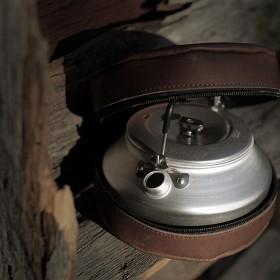 Bild på Lemmelkaffe Kahvipannu nahkalaukulla