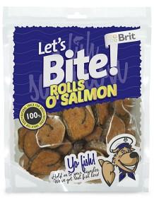 Bild på Lets Bite Rolls o Salmon - Storpack 400 g