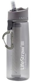 Bild på LifeStraw Go Bottle 2.1 Grey Vedensuodatin