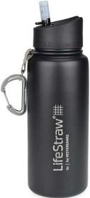 Bild på Lifestraw Go Bottle Stainless Steel 710 ML Black