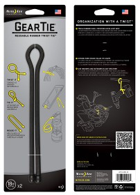 Bild på Nite Ize Gear Tie 18-Black 2-pack