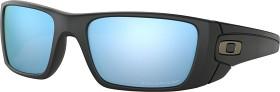Bild på Oakley Fuel Cell Matte Black Prizm Deep Blue Polarized