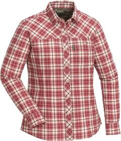 Bild på Pinewood Cumbria InsectSafe -naisten paita, punainen
