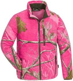 Bild på Pinewood Kids Finnveden Pink Fleece Jacket AP Hot Pink