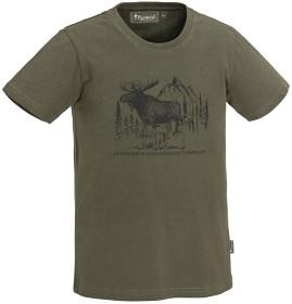 Bild på Pinewood Moose -lasten t-paita, vihreä