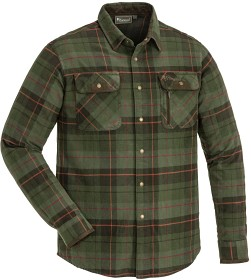 Bild på Pinewood Prestwick Exclusive Shirt Green/Terracotta